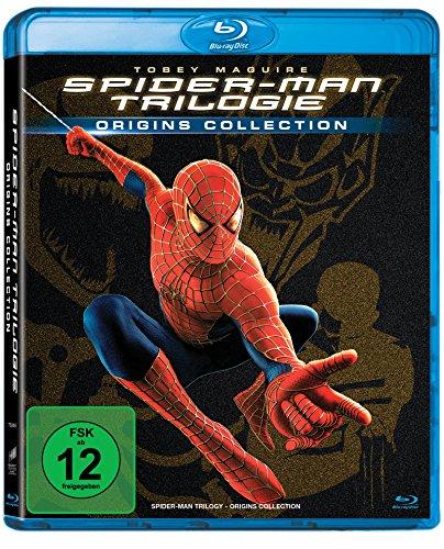 Spider-Man Trilogie (Origins Collection) (Blu-ray) für 5,95€ (Amazon Prime & Müller Abholung)