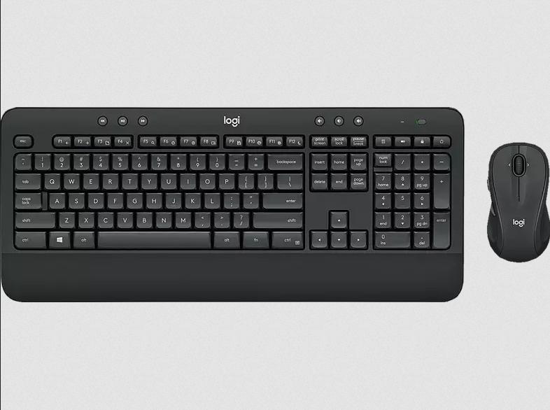 LOGITECH MK545 Advanced Wireless Tastatur-Maus Set