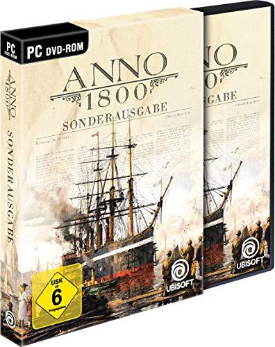 [Amazon Prime] Anno 1800 Sonderausgabe (inkl. Soundtrack und Lithographien) für 24,99€ + Anno 1800 Königsedition für 43,86€