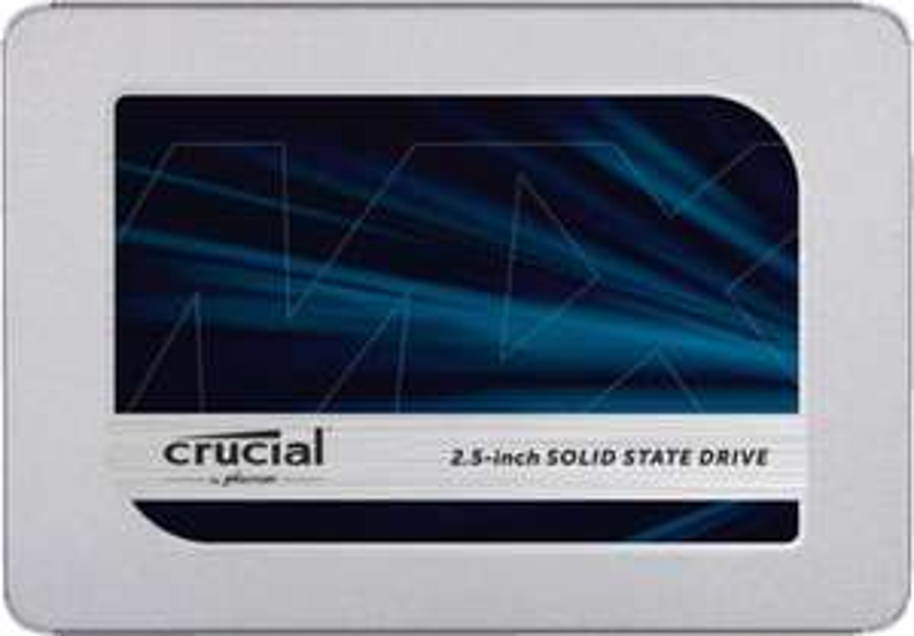 Crucial MX500 1TB SSD 3D NAND TLC SATA für 90€ inkl. Versandkosten mit Füllartikel [Saturn / MediaMarkt]