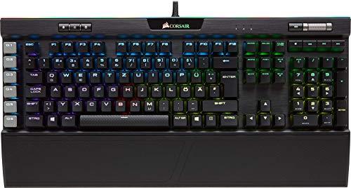 Corsair K95 RGB Platinum Mechanische Gaming Tastatur (Cherry MX !Brown!: Taktil und Leise, Multi-Color RGB Beleuchtung, QWERTZ) schwarz