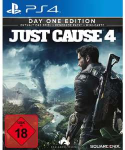 Just Cause 4 - Day One Edition (PS4) für 4,86 € (Saturn & Media Markt Abholung)