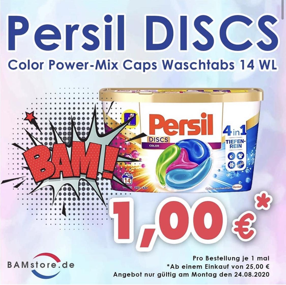Persil DISCS Waschtabs 14 WL (bei einem Kauf von 25€) (nur Berlin)
