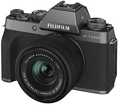 FUJIFILM X-T200 Systemkamera mit XC15-45mmF3.5-5.6 OIS PZ Kit