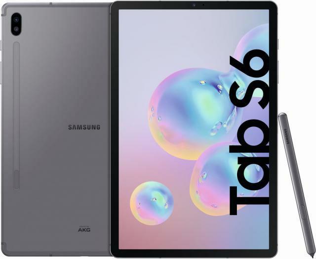"Galaxy Tab S6 128GB + LTE Mountain Gray (NEU, kein Simlock) // 6GB RAM, 10.5"""