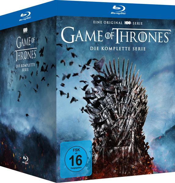 Game of Thrones - Die komplette Serie BluRay (bol.de mit Newslettergutschein)