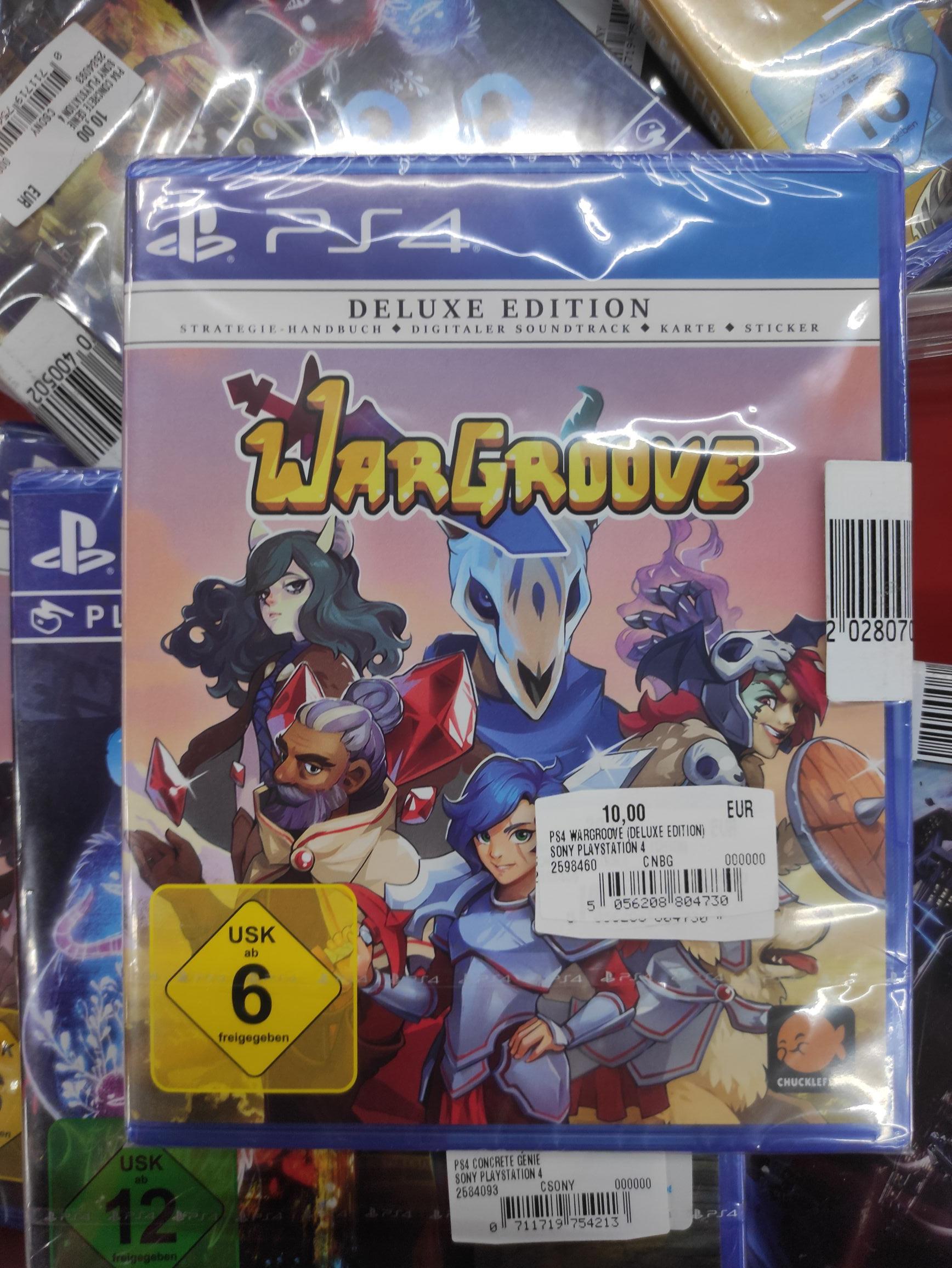 [Media Markt Köln Kalk] Wargroove Deluxe Edition PS4 für 10 €
