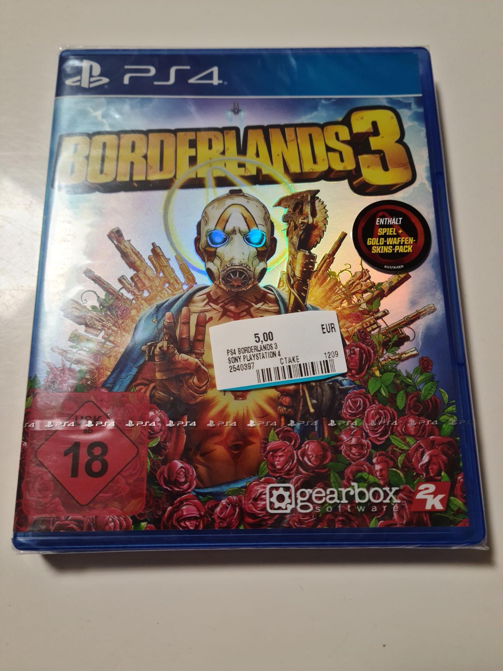 (Lokal Schwerin) Borderlands 3 PS4 MM Schwerin