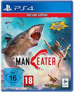 Maneater Day One Edition (PS4 & Xbox One) für je 27,99€ (Amazon Prime & Saturn & Media Markt Abholung)