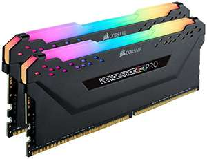 Kit Memory DDR4 Corsair Vengeance RGB PRO 32GB XMP 2.0 Enthusiast (2x16GB) 3200MHz, CL16, Schwarz