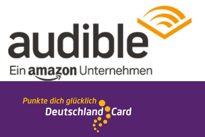 [personalisiert] 2000 DeutschlandCard Punkte Audible Neukunden