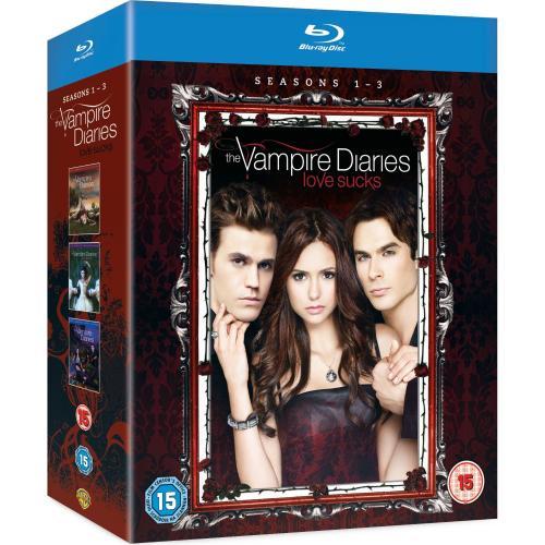 Vampire Diaries Staffeln 1-3 Blu Ray OV für 43,6 Euro