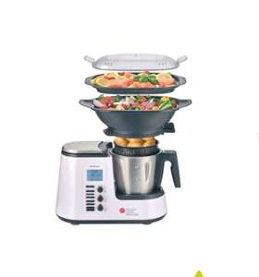 Küchenmaschine Monsieur Cuisine Edition Plus SKMK 1200 C3 internationales Modell B-Ware Sonstige