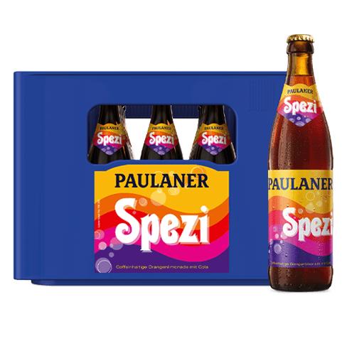 Paulaner Spezi - 20 x 0,5l für 7,99€ (zzgl. 3,10€ Pfand) [Regional Edeka Südbayern]