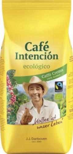 [Citti-Märkte] J.J. Darboven Café Intención ecológico Bio Caffè Crema Bohnen (1kg) für 9,99€ , 500g Packung gemahlen für4,99€