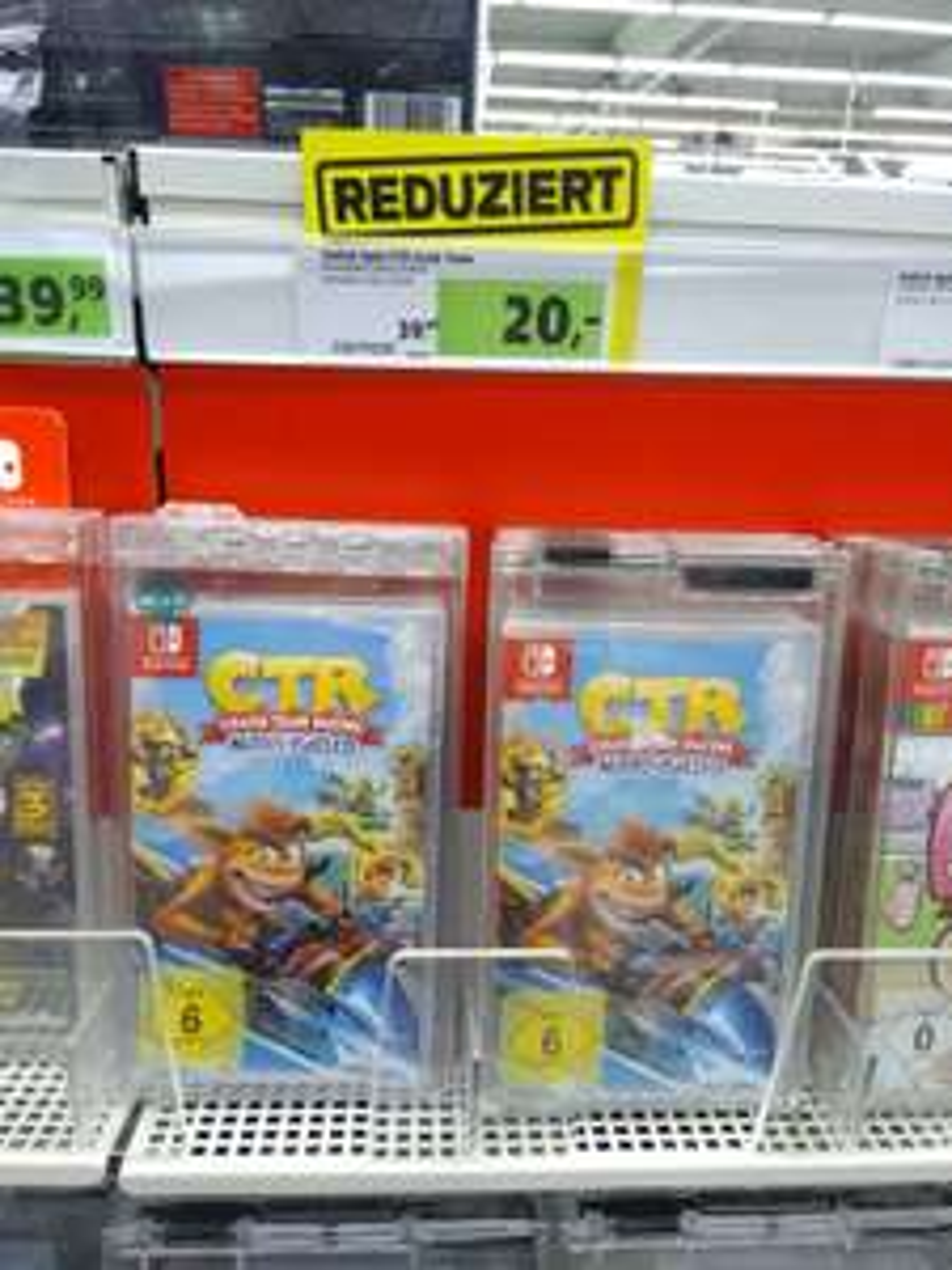 [lokal Leipzig] Nintendo Switch - Crash Team Racing