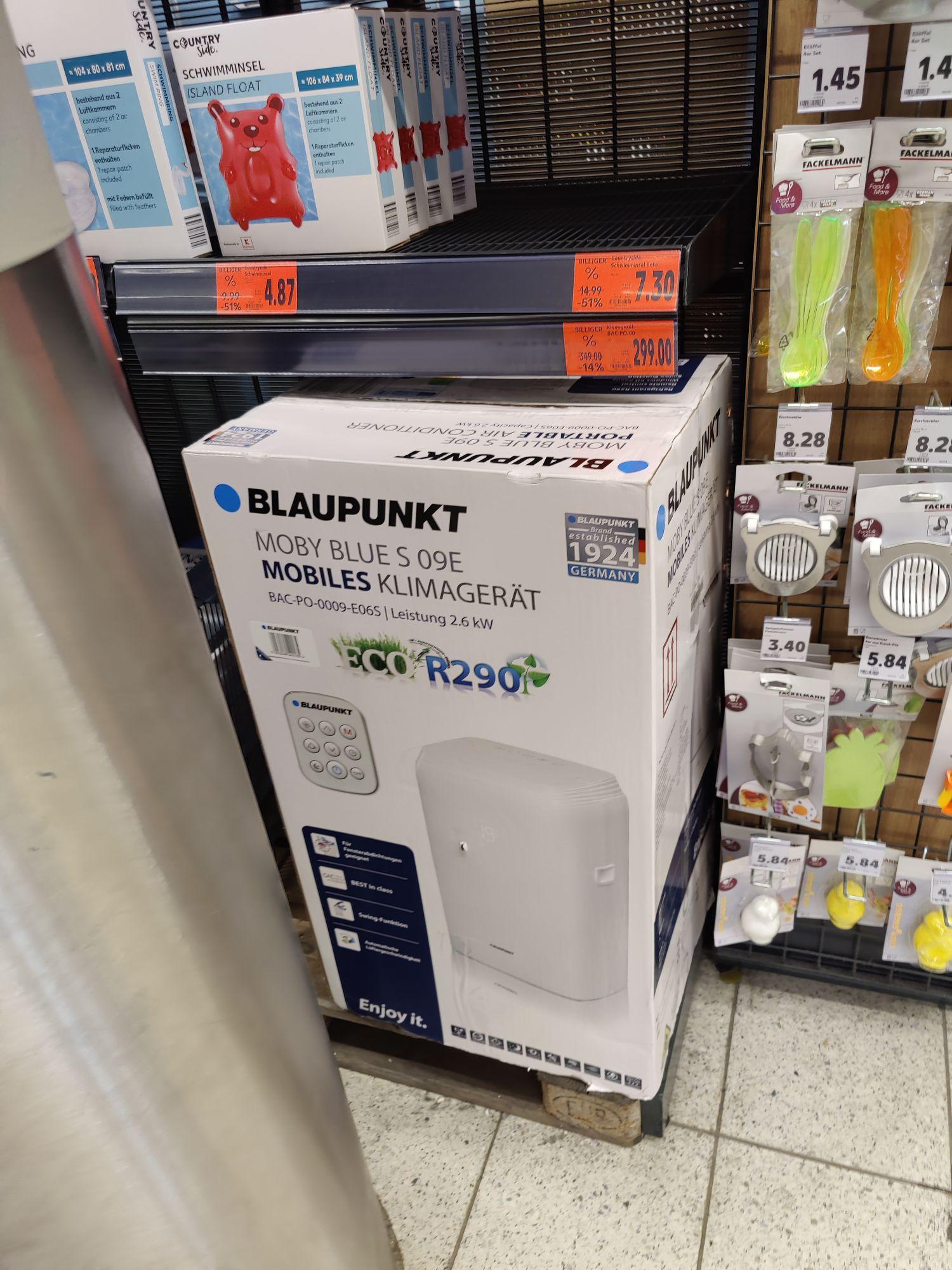 Bei Kaufland Karlsruhe (LOKAL) | Blaupunkt Klimagerät BAC po 0009 (Luftentfeuchter, Kühlen, Ventilator) mit Fernbedienung