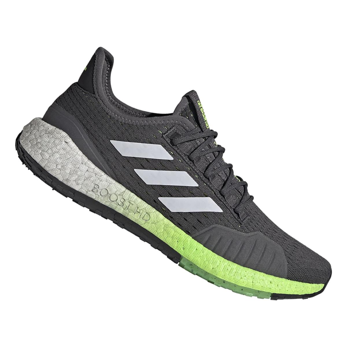 Adidas Laufschuh Pulseboost HD S.Ready dunkelgrau/weiß Gr 39 bis 48
