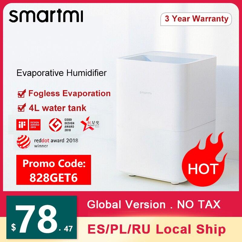 SMARTMI Verdunstungsbefeuchter Luftbefeuchter (APP Control, 4L, WiFi) für 77,69€