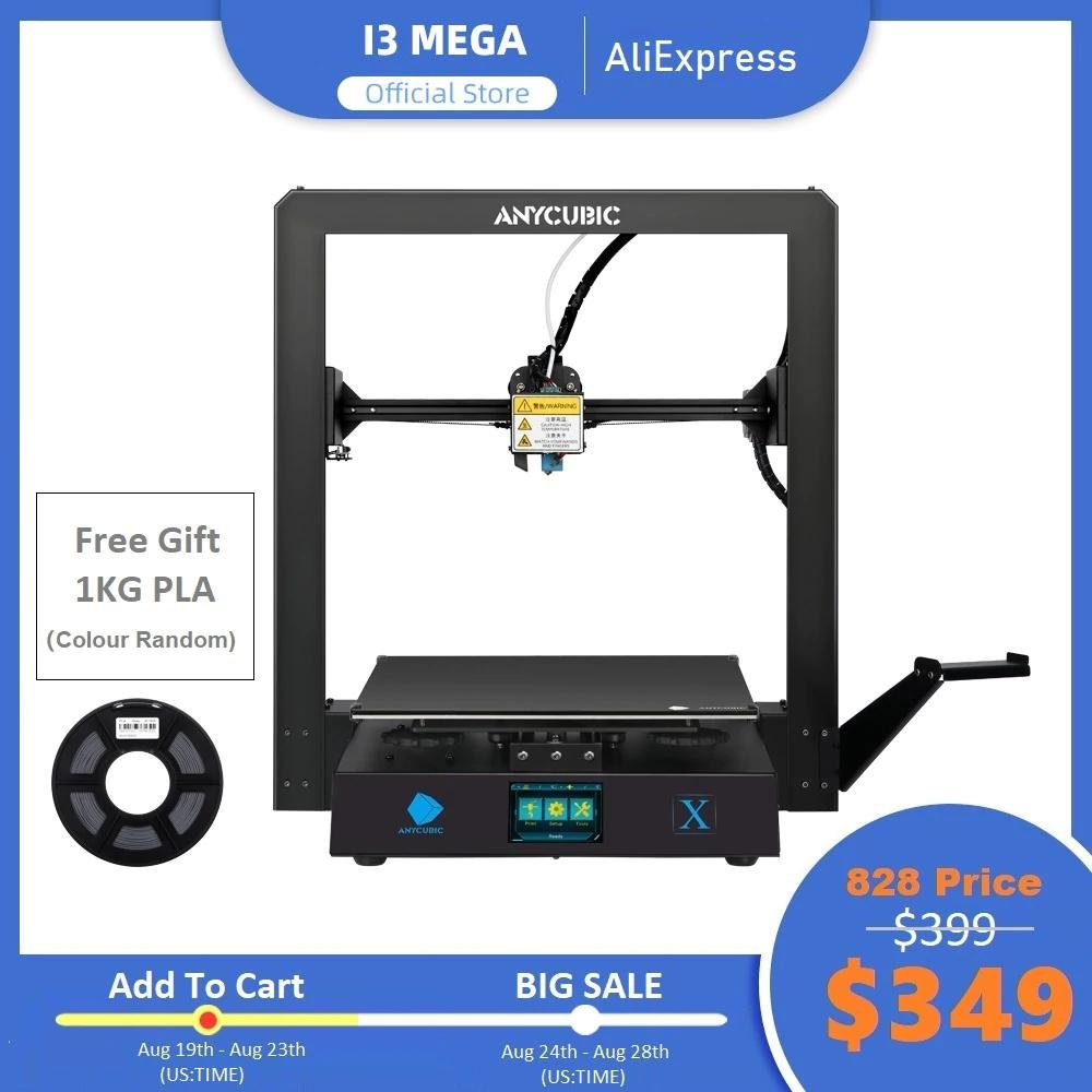 Anycubic Mega X 3D Drucker (FDM, 300*300*305 mm, Cura) für 302,83