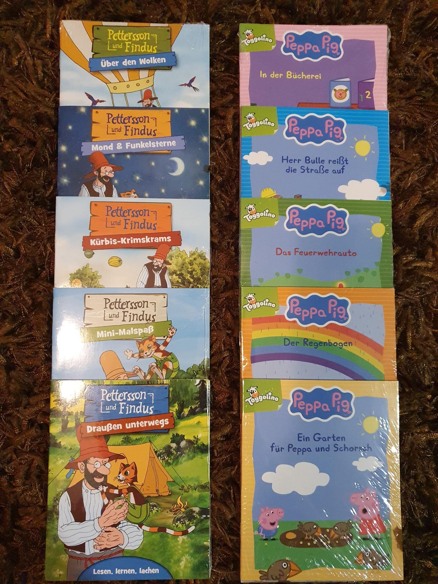 (Offline) Aldi Süd 5 Minibücher für 2,99€ (Peppa Wutz, Bibi&Tina, Eiskönigin, PawPatrol, Pettersson und Findus etc.)