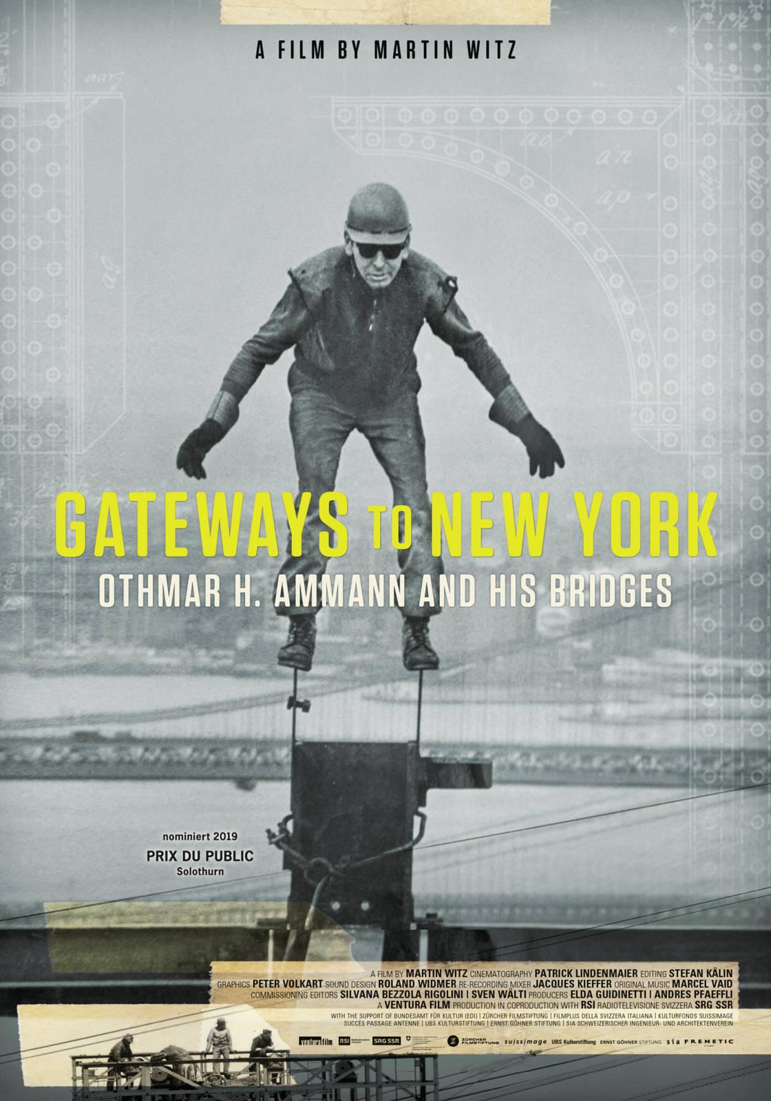 Gateways to New York - Othmar H. Ammann und seine Brücken - Dokumentarfilm 2019