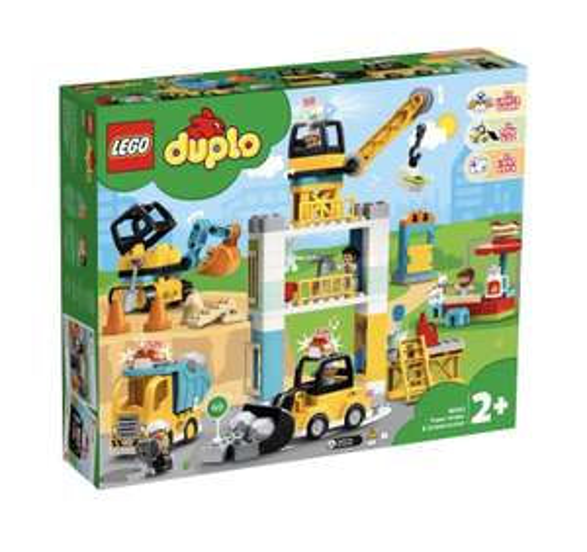 LEGO Duplo Große Baustelle [10933]