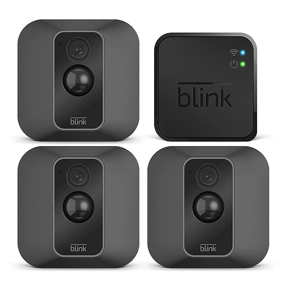 Blink XT2-3 Smarte Sicherheitskamera für den Außen- und Innenbereich Dreierpack [Cyberport]