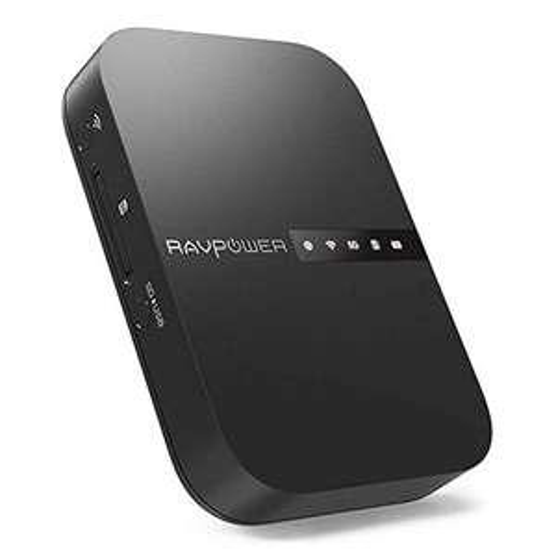 RAVPower Filehub (RP-WD009), Reise WiFi Router AC750