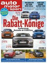 Auto Motor & Sport Abo (29 Ausgaben) für 115,51 € mit 100 € BestChoice-Gutschein/ 95 € Amazon-Gutschein