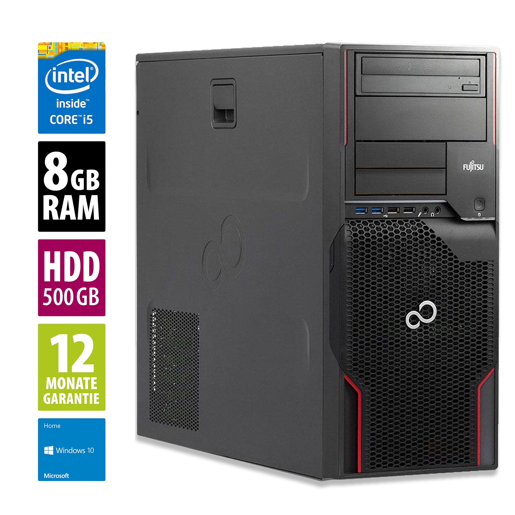 Office PC i5 2400 - 8GB RAM - 500GB HDD inkl Windows 10 - 12 Monate Garantie [AfB Shop] (evtl. Gaming?)