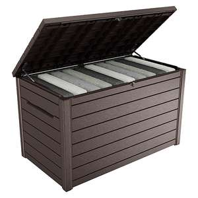 Keter / Tepro Ontario - Auflagenbox / Kissenbox / Gartenbox - 148x83x86 cm - 870l - Toom / Bauhaus TPG