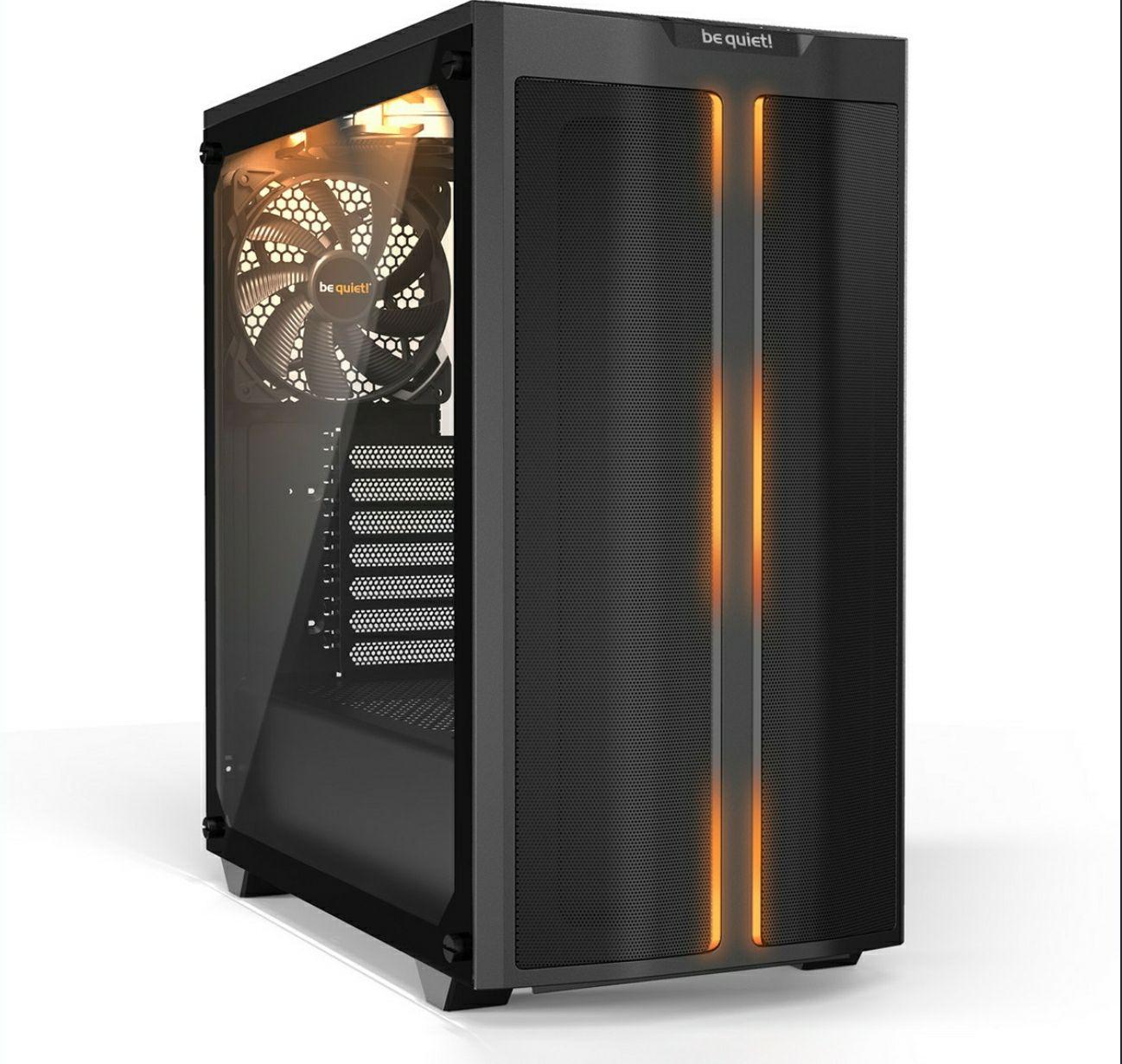 be quiet! Pure Base 500DX schwarz, Glasfenster, schallgedämmt