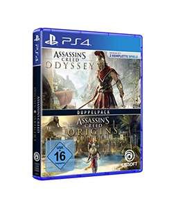 [PS4] Assassin's Creed: Odyssey + Assassin's Creed: Origins Doppelpack
