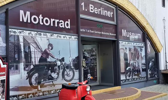 1. Berliner DDR Motorrad Museum - Eintritt inkl. Fotoerlaubnis