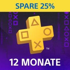 [PS4] PlayStation Plus: Mitgliedschaft für 12 Monate - 25 % Rabatt
