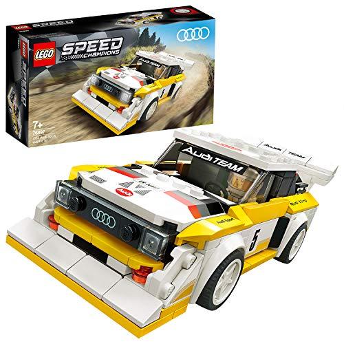 LEGO 76897 Speed Champions 1985 Audi Sport Quattro S1 AMAZON PRIME