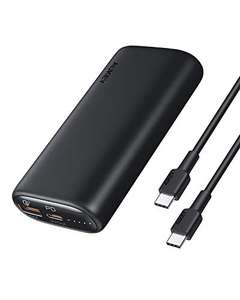 [Amazon Prime] AUKEY PB-Y36 Powerbank 10 000 mAh ( 18 W Power Delivery, Quick Charge 3.0, inkl. USB-A zu C Kabel )