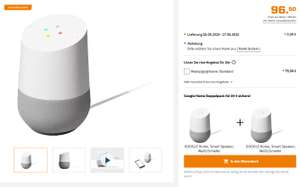 [Saturn] 2x GOOGLE Home Smart Speaker, Weiß/Schiefer für 89 Euro