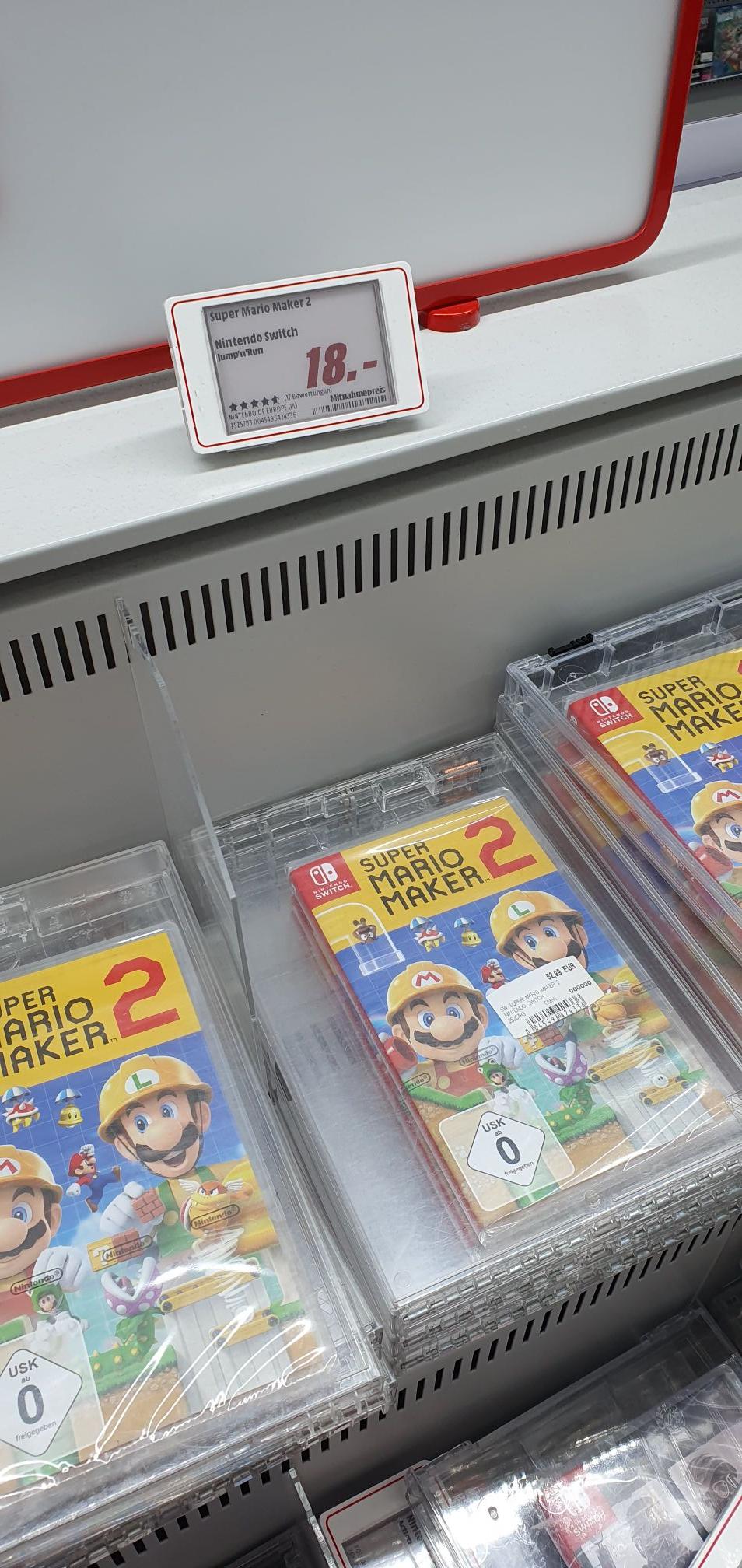 (Lokal Media Markt Köln City) Super Mario Maker 2 für Nintendo Switch