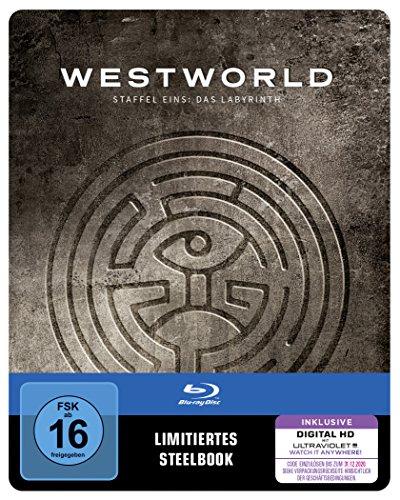 Westworld - Staffel Eins: Das Labyrinth Limited Steelbook Edition (3 Blu-ray + UV Copy) für 13,76€ (Amazon Prime)