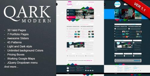 QARK Modern - HTML Template @Themeforest.net