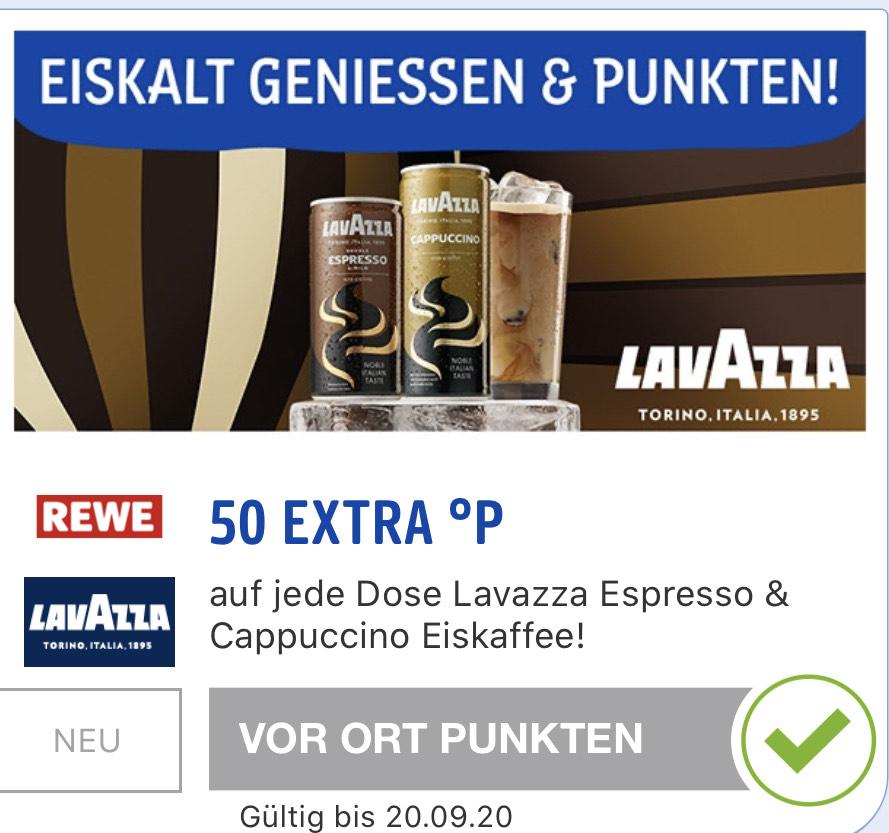 *Rewe* mit Payback&Coupies Lavazza Eiscafé Dose effektiv 0,79Cent / 0,29Cent pro Dose (Payback personalisiert)