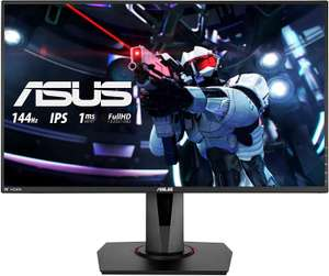 ASUS VG279Q 68,68 cm (27 Zoll) Gaming Monitor (Full HD, 144Hz, FreeSync, 3ms Reaktionszeit, DVI, HDMI, DisplayPort) schwarz [Amazon & Otto]