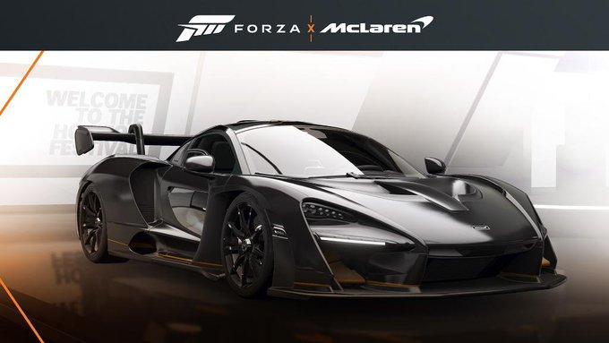 McLaren Senna Bruno Senna Kostenlos für Forza Horizon 4 auf Xbox One & PC