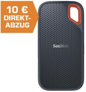 SanDisk Extreme Portable SSD 1TB mit IP55 Staub- u. Wasserschutz für 118,79€ inkl. Versandkosten [Saturn]