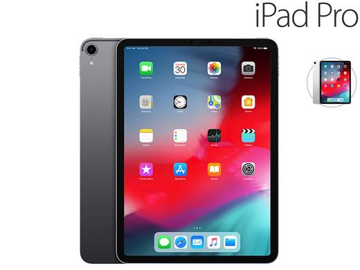 "Apple 11"" iPad Pro | 256 GB | Wi‑Fi | 2018 (799,95 + 5,95 Versand) silber oder grau"