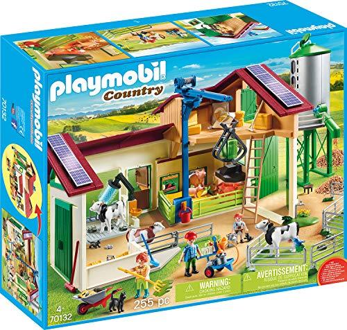 Playmobil Country - Großer Bauernhof mit Silo (70132) für 49,95€ (Amazon & Real Abholung)