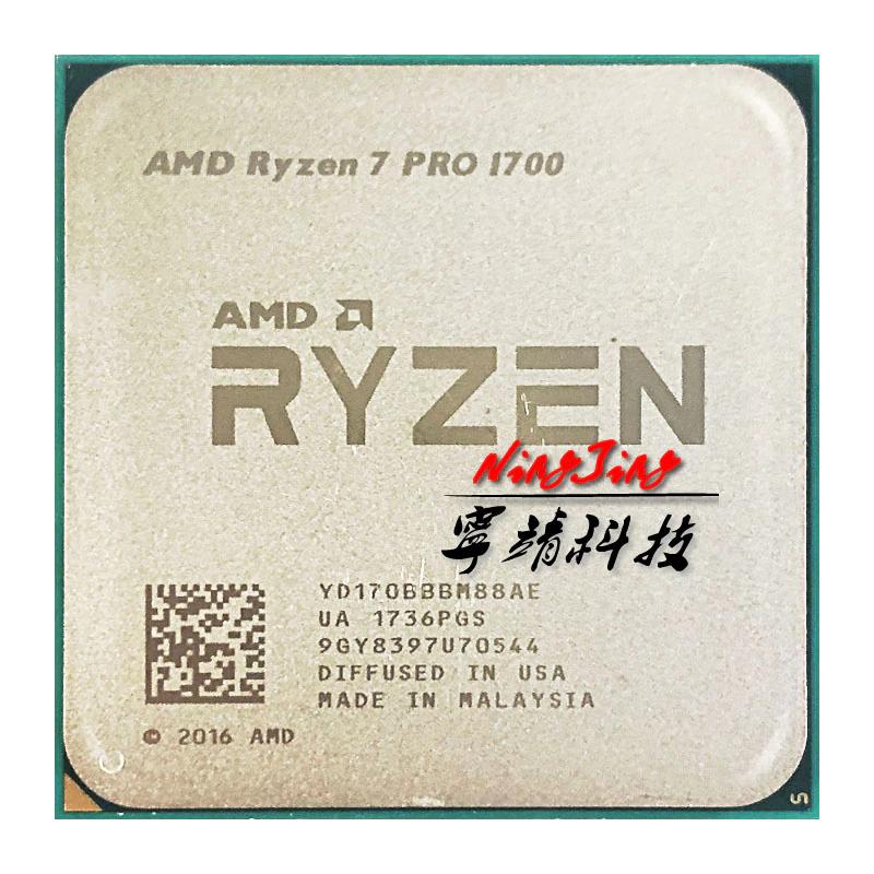 AMD Ryzen 7 PRO 1700 (8 Kerne/16 Threads, bis zu 3,7 GHz, AM4)