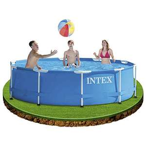 [Amazon] Intex Metal Frame Pool - Aufstellpool - Ø 305 x 76 cm
